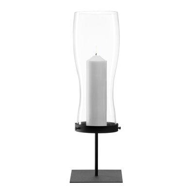 Leonardo Windlicht Giardino aus Metall / Glas