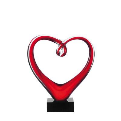 Leonardo Skulptur Heart