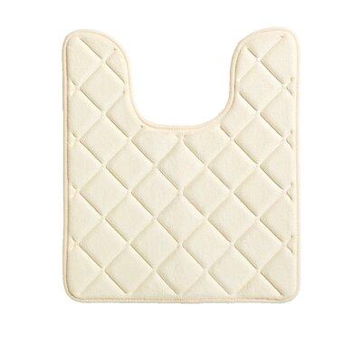 Diamonds Bath Rug Color: Vanilla