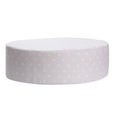 Triangle Accent Stool Color: Storm Gray