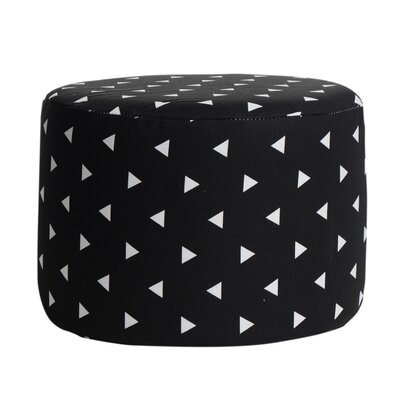 Triangle Accent Stool Color: Black