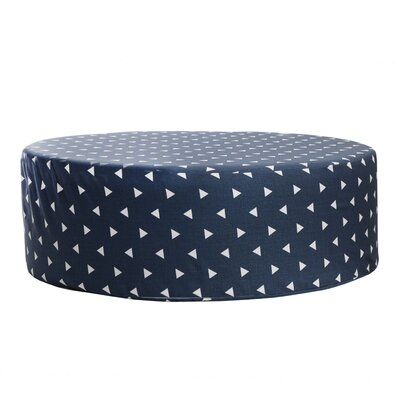 Triangle Accent Stool Color: Navy