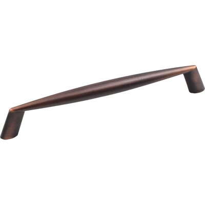 """Zachary 6 3/10"""" Center Bar Pull Finish: Brushed Oil Rubbed Bronze"""