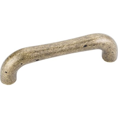 "Belcastel II 3 7/9"" Center Bar Pull Finish: Distressed Antique Brass"