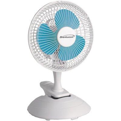 "6"" Oscillating Table Fan"