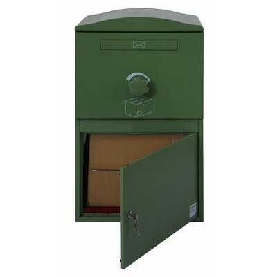Compact Steel Parcel Locker Mailbox Color: Forest