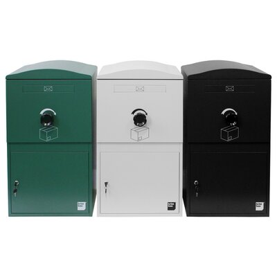 Standard Steel Parcel Locker Mailbox Color: Snow