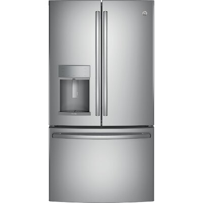 27.8 cu. ft. Energy Star French Door Refrigerator With Hands-free Autofill Finish: Stainless Steel
