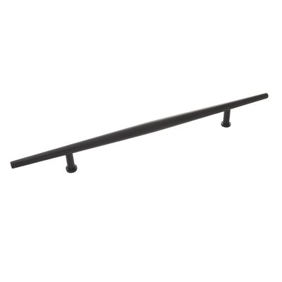 "Wexler 7 9/16"" Center Bar Pull Color: Flat Onyx"