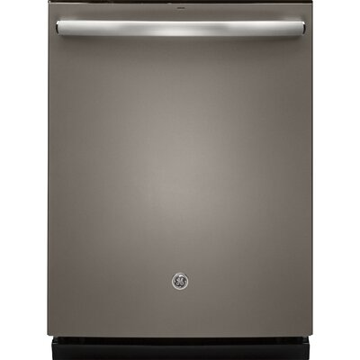 "24"" 46 dBA Built-In Dishwasher with Hidden Controls Finish: Slate"