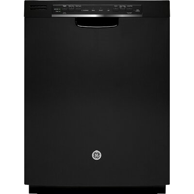 "24"" 48 dBA Built-In Dishwasher with Front Controls Finish: Black"