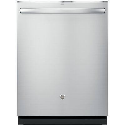 "24"" 46 dBA Built-In Dishwasher with Hidden Controls Finish: Stainless Steel"