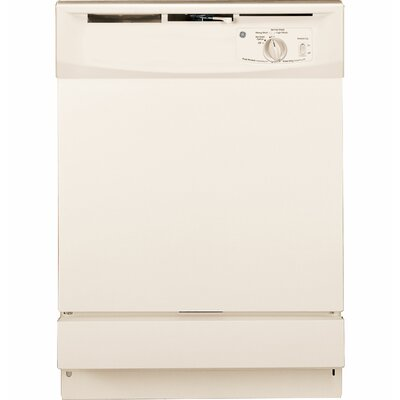 "24"" 64 dBA Built-In Dishwasher with Front Controls Finish: Bisque"