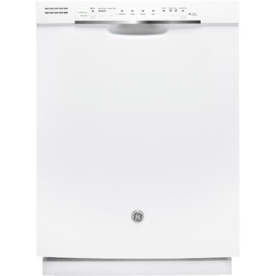 "24"" 48 dBA Built-In Dishwasher with Front Controls Finish: White"