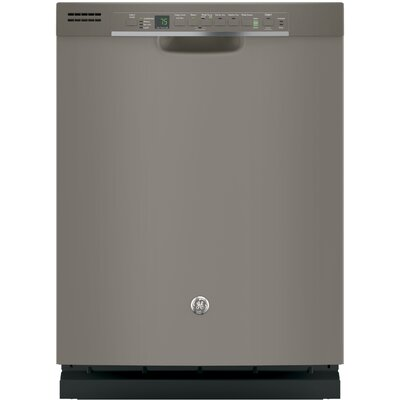 "24"" 51 dBA Built-In Dishwasher with Front Controls Finish: Slate"