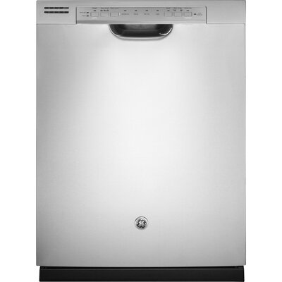 "24"" 48 dBA Built-In Dishwasher with Front Controls Finish: Stainless Steel"