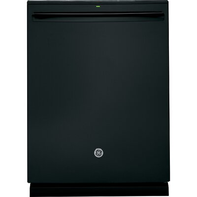 "24"" 46 dBA Built-In Dishwasher with Hidden Controls Finish: Black"