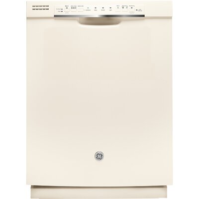 "24"" 48 dBA Built-In Dishwasher with Front Controls Finish: Bisque"