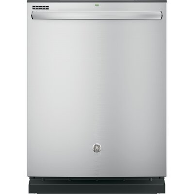 "24"" 51 dBA Built-In Dishwasher with Hidden Controls Finish: Stainless Steel"