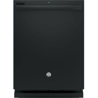 "24"" 51 dBA Built-In Dishwasher with Hidden Controls Finish: Black"
