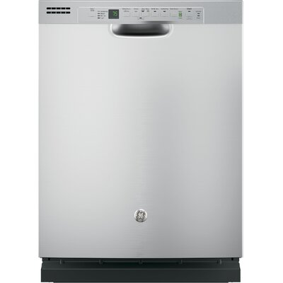 "24"" 51 dBA Built-In Dishwasher with Front Controls Finish: Stainless Steel"