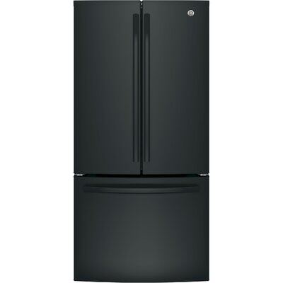 24.8 cu. ft. Energy Star French Door Refrigerator Finish: Black