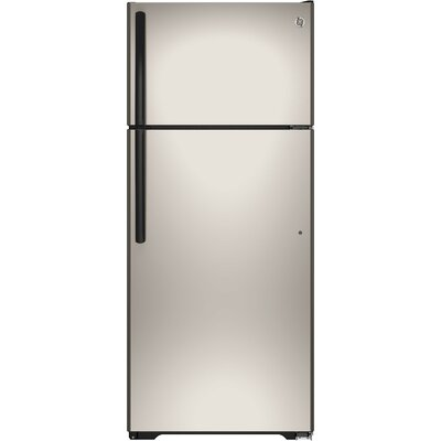 17.5 cu. ft. Energy Star Top-Freezer Refrigerator Finish: Silver
