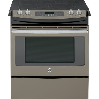 "30"" Slide-in Electric Range with Griddle Finish: Slate"