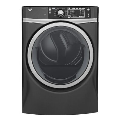 8.3 cu. ft. High Efficiency Gas Dryer with Steam Color: Gray