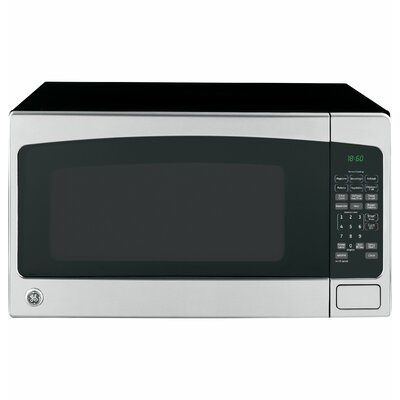 """24"""" 2.0 cu. ft. Countertop Microwave Finish: Stainless Steel/Black"""