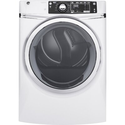 8.3 cu. ft. High Efficiency Electric Dryer with Steam Color: White