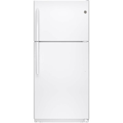 18.2 cu. ft. Energy Star Top-Freezer Refrigerator Finish: White