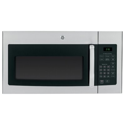 """30"""" 1.6 cu. ft. Over-the-Range Microwave Finish: Stainless Steel/Black"""