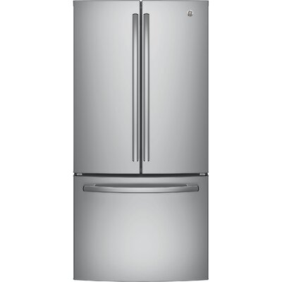 24.8 cu. ft. Energy Star French Door Refrigerator Finish: Stainless Steel