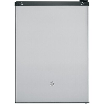 23.62-inch 5.6 cu. ft. Convertible Compact Refrigerator with Freezer Finish: Stainless Steel