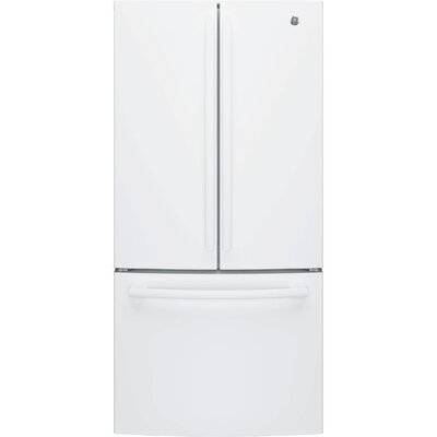 24.8 cu. ft. Energy Star French Door Refrigerator Finish: White