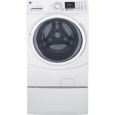 4.5 cu. ft. Energy Star Frontload Washer with Steam Color: White