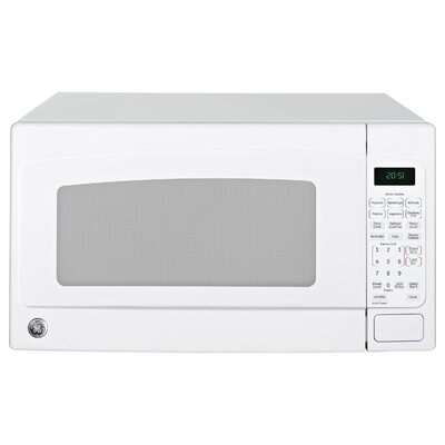 """24"""" 2.0 cu. ft. Countertop Microwave Finish: White/White"""