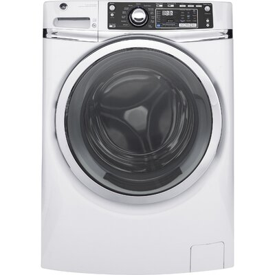 4.9 cu. ft. Energy Star Front Load Washer with Steam Finish: White