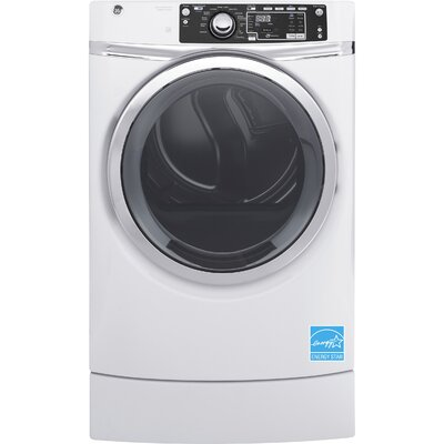 RightHeight Design 8.3 cu. ft. High Efficiency Gas Dryer with Steam Color: White