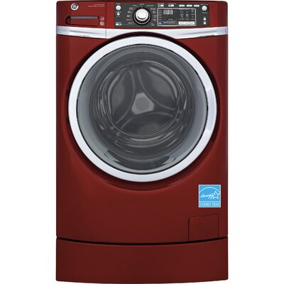 RightHeight Design 8.3 cu. ft. High Efficiency Gas Dryer with Steam Color: Red
