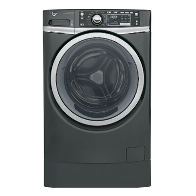 4.9 cu. ft. Energy Star Front Load Washer with Steam Finish: Gray