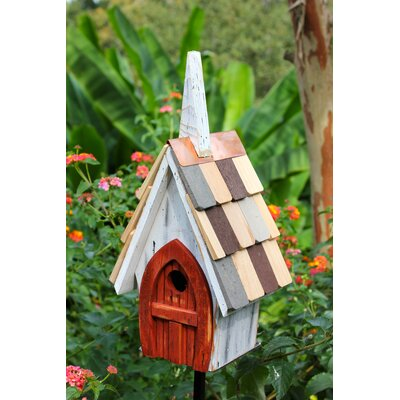 Flock of Ages 16 in x 8 in x 6 in Birdhouse