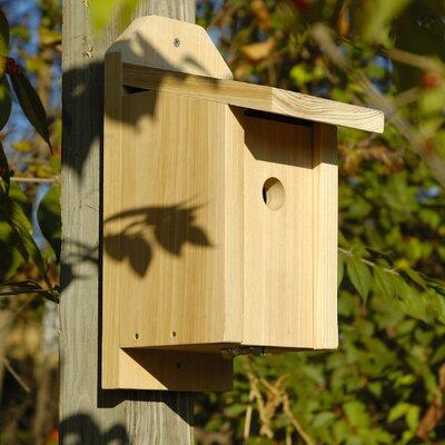 Chickadee Joy Box 13 in x 8 in x 5.5 in Birdhouse