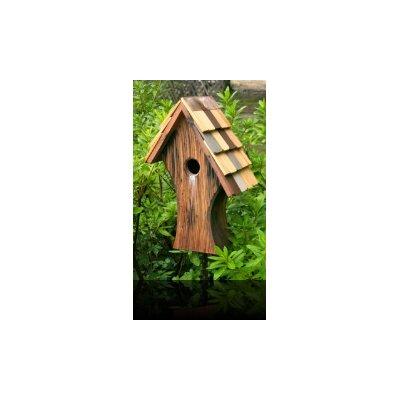 Heartwood Nottingham Birdhouse with Shingled Roof