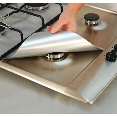 Gas Range Protector Color: Silver