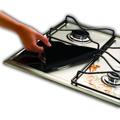 Gas Range Protector Color: Black