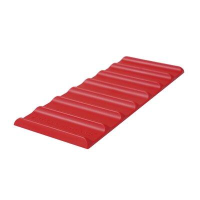 Fridge Monkey Mat Color: Red