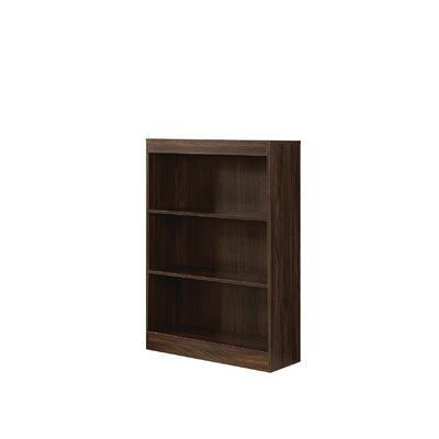 Hillside Standard Bookcase Size: 47.75'' H x 13.5'' W x 6'' D, Finish: Dark Walnut
