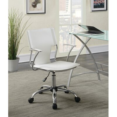 Azura Office Chair Color: White